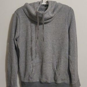 Scoop neck hoodie